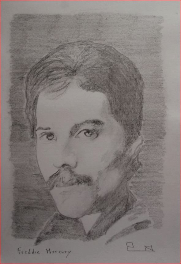 Freddie Mercury by Picapenko